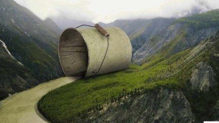 Необычайно креативная реклама (Фото)