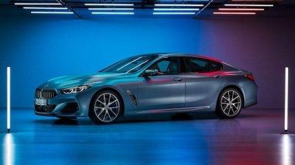 Новая BMW 8-Series Gran Coupe засветилась на неофициальных фото
