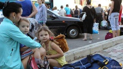 Переселенцы в Селидово получили по $300 помощи из Чехии