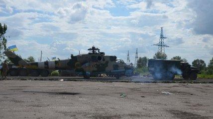 Украинские военные вернули в строй вертолет Ми-24