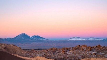 Чилийская пустыня Атакама - самое засушливое место на Земле (Фото)