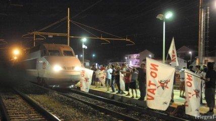 Железнодорожники Франции завтра выйдут на массовую забастовку