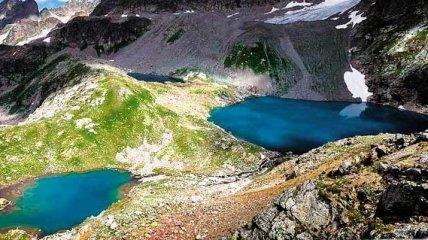 Удивительная природа: вулканические озера (Фото)