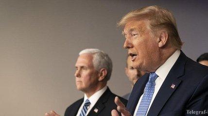 Трамп: Я объявляю о введении режима чрезвычайной ситуации