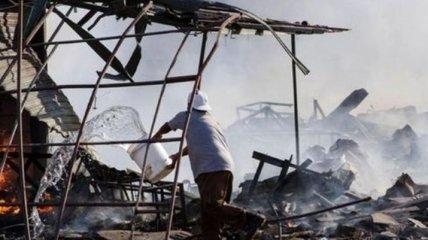 В результате взрыва на складе пиротехники в Мексике погибли люди