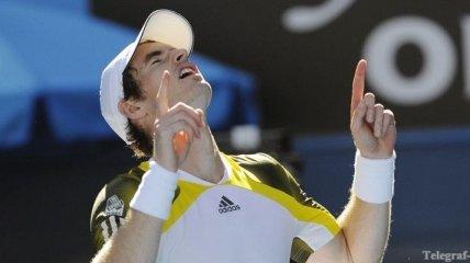 Энди Маррей вышел в четвертый круг Australian Open