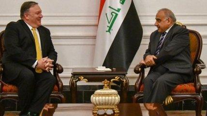 Помпео с президентом Ирака договорился победить ИГИЛ