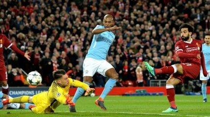 Манчестер Сити - Ливерпуль: стартовые составы на матч 03.01.2019