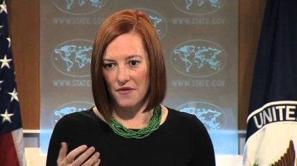 Псаки: Встреча в Астане поможет урегулировать кризис на Донбассе