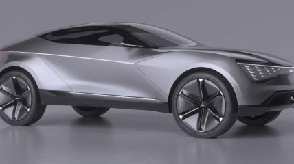 Kia анонсировала концепт нового электрокроссовера Futuron