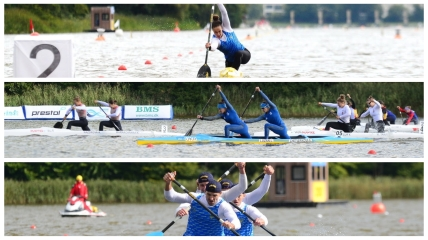 Українські веслувальники на Чемпіонаті світу