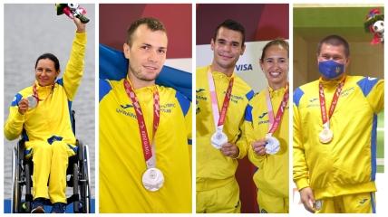 Украинские паралимпийцы выиграли 4 награды 4 сентября
