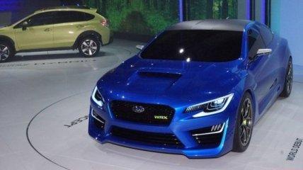 Новый Subaru WRX в живую