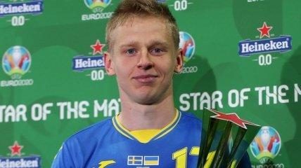 Стали известны лучший игрок и Лев матча Швеция - Украина на Евро-2020