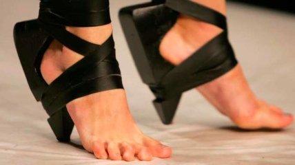 30 самых невообразимых и необычных пар обуви (Фото)