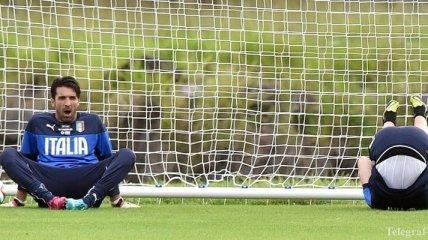 Буффон окончательно не сыграет в матче с Англией