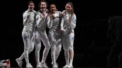 Стал известен победитель в женской рапире на командном турнире Олимпийских игр