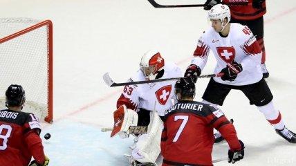 ЧМ-2019 по хоккею: Канада одолела Швейцарию, Россия обыграла США