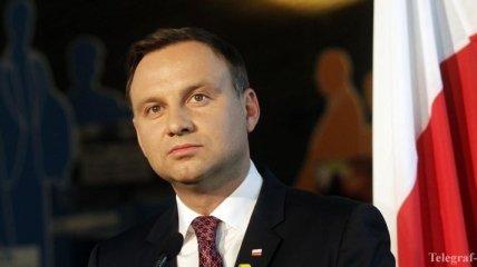 Дуда отменил постановление об отзыве посла с Украины