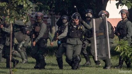 Совершено нападение на здание парламента в Венесуэле
