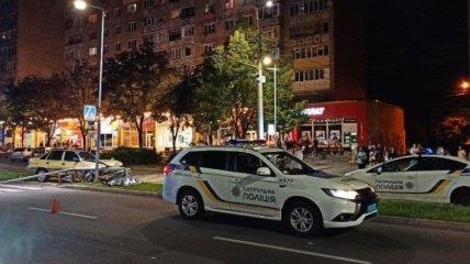 У Чернігові на пішохідному переході на смерть збили майора поліції (фото)