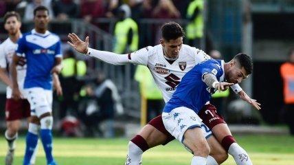Брешия крупно проиграла на своем поле Торино