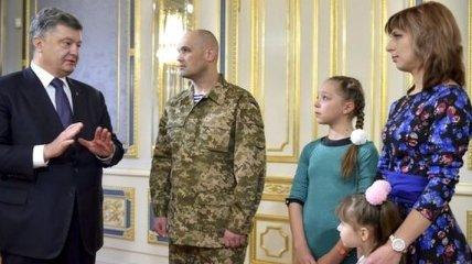 """Освобожденный """"киборг"""" Олег Кузьминых уже в Киеве"""
