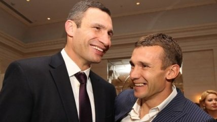 Футболист Шевченко вызвал боксера Кличко на политические дебаты