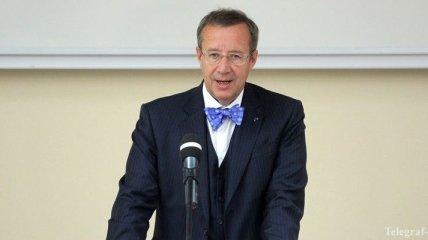 Президент Эстонии обвинил Россию