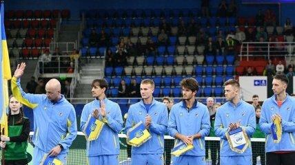Украина в сентябре примет Израиль в матче Кубка Дэвиса
