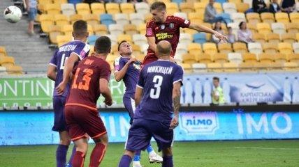 Первый матч чемпионата Украины 2021/22 завершился вничью (видео)