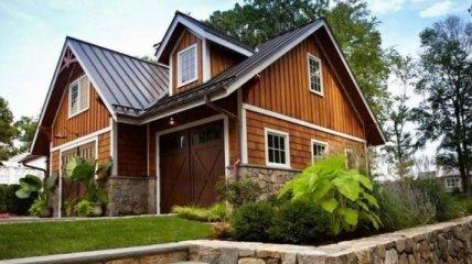 Крутой дом-гараж, о котором мечтает каждый мужчина (Фото)