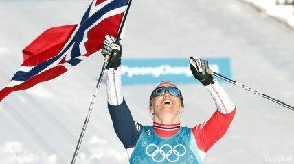 Бьорген догнала Дели и Бьорндалена по количеству золотых олимпийских медалей