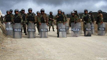 В Перу около 4 тысяч человек приняли участие в манифестации