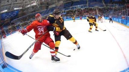 Хоккей на Олимпиаде-2018. Сборная ОАР в финале обыграла Германию