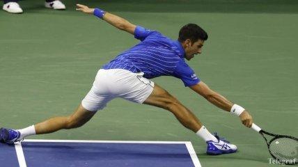 US Open: Джокович вышел во второй круг