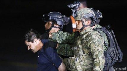В Мексике задержали сбежавшего из тюрьмы наркобарона