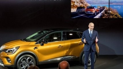Новый Renault Captur пополнит список гибридных автомобилей (Фото)