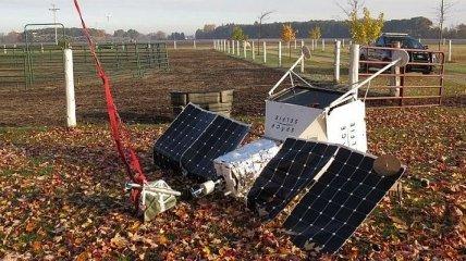 В США на территорию фермы упал селфи-спутник (Видео)