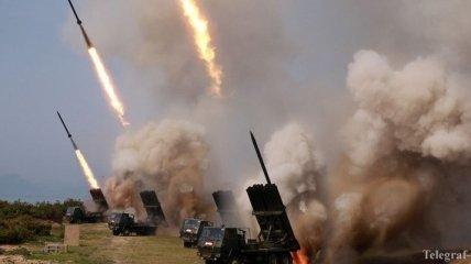 КНДР вновь провела запуск ракет