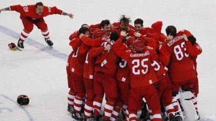 Хоккей на Олимпиаде-2018. ОАР - Германия: яркие моменты финального матча (Фото)