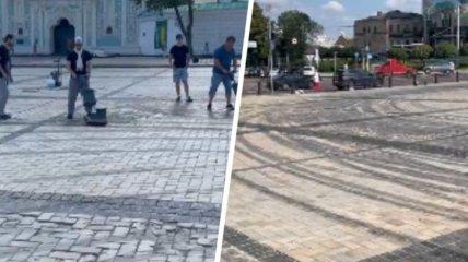 К концу дня Red Bull прокомментировали скандальную съёмку на Софиевской площади
