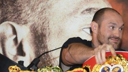 Тайсону Фьюри придется отложить свое возвращение на ринг
