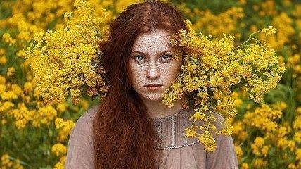 Завораживающая естественная красота девушек с веснушками (Фото)