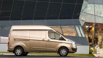 На европейском рынке появился обновленный Ford Transit Custom
