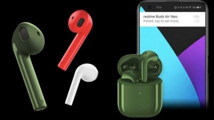 Компания Realme презентовала наушники Buds Air Neo
