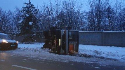 В ДТП под Киевом пострадали 8 человек, их госпитализировали