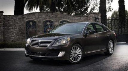 Новый роскошный седана Hyundai Equus