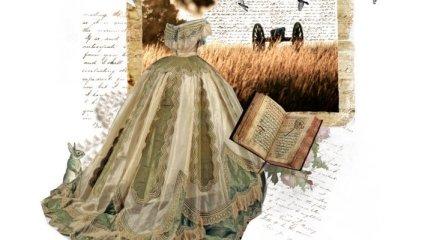 Какие платье были модными в 19 веке?