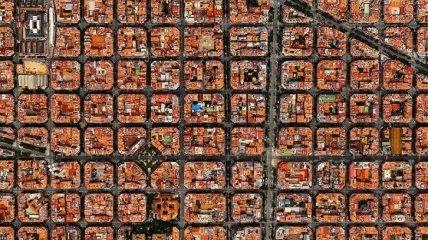 Снимки со спутника изменяющие привычный взгляд на планету Земля